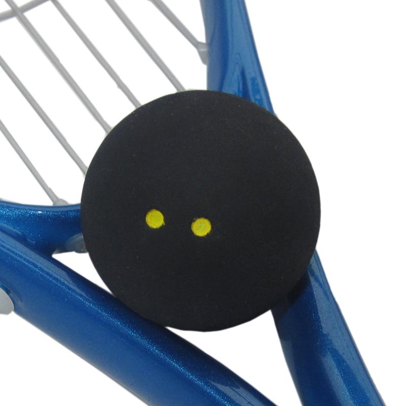 1pc FANGCAN FCA-06 Pertandingan Bola Squash Dua Dots Kuning Kelajuan Rendah Skuasy Racquet Skuasy Profesional