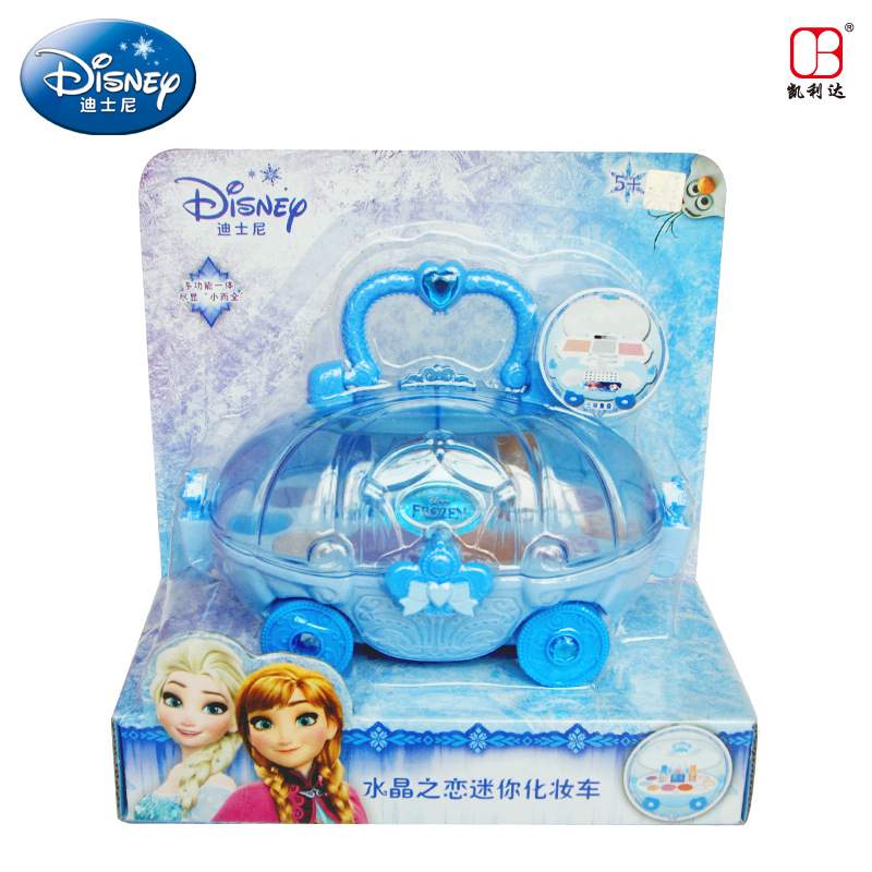 Hospitable Disney Princess Childrens Makeup Crystal Love Mini Makeup Car House Toys Birthday Gifts Frozen Kids Makeup Girls Toys Gift Strengthening Sinews And Bones Toys & Hobbies