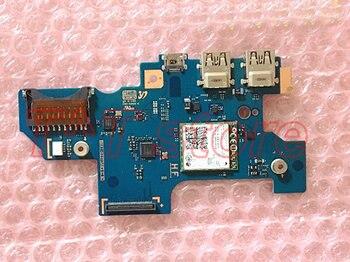 original for NP910S5J 910S5J power botton CARD READER USB board test good free shipping