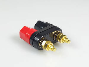 Plug-Jack Connector Banana-Plugs Binding-Post Terminals Couple Top-Selling Black Quality