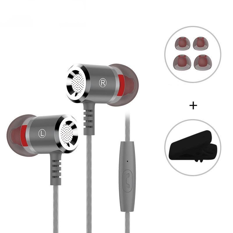 M400 Earphone In-ear Earphone Metal Volume Control Stereo With Mic For Apple iphone Samsung Xiaomi