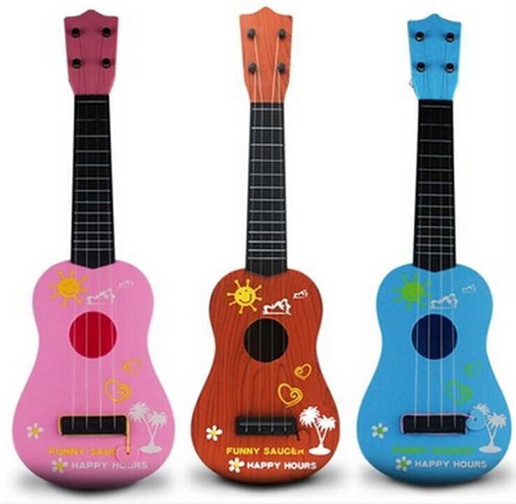Plastic Toy Musical Instruments : Popular pink toy guitar buy cheap lots