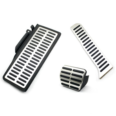 Stainless Car Accelerator Gas Brake pedal Clutch Pedal Rest pedal AT MT For SEAT LEON CUPRA