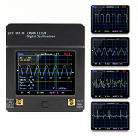 DSO 112A TFT Mini Digital Oscilloscope Touch Screen Portable USB Oscilloscope Interface 2MHz 5Msps