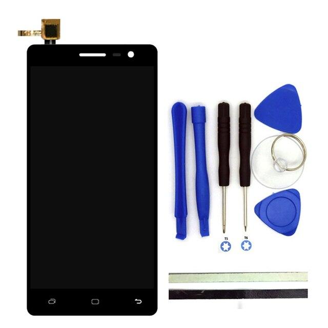 100% nuevo de alta calidad de 5 pulgadas para hisense c20 c 20 Pantalla LCD + Pantalla Táctil de Cristal Digitalizador Panel de Reemplazo de la Asamblea partes