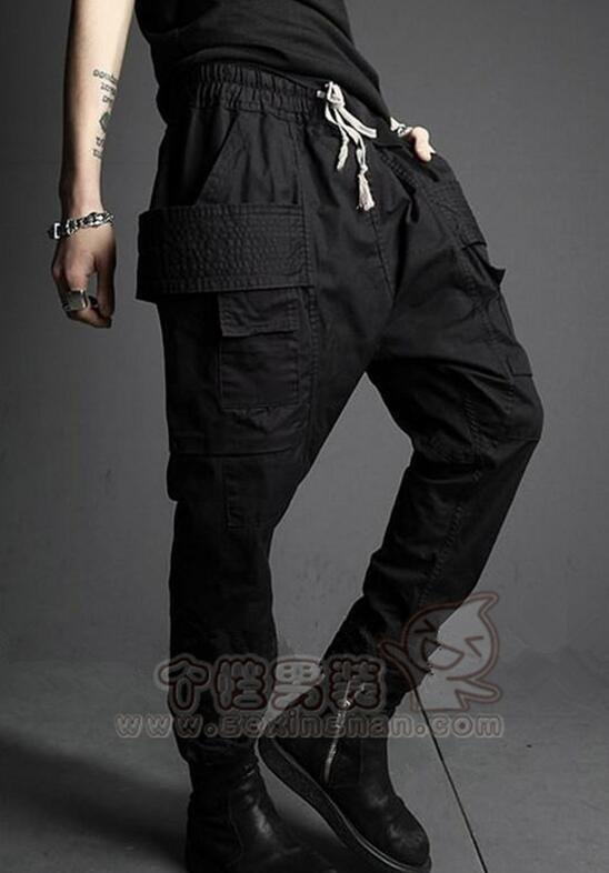Pants Black New-Fashion HOT And Joker Male Spring Lower-Fork Cultivate Morality 27-46
