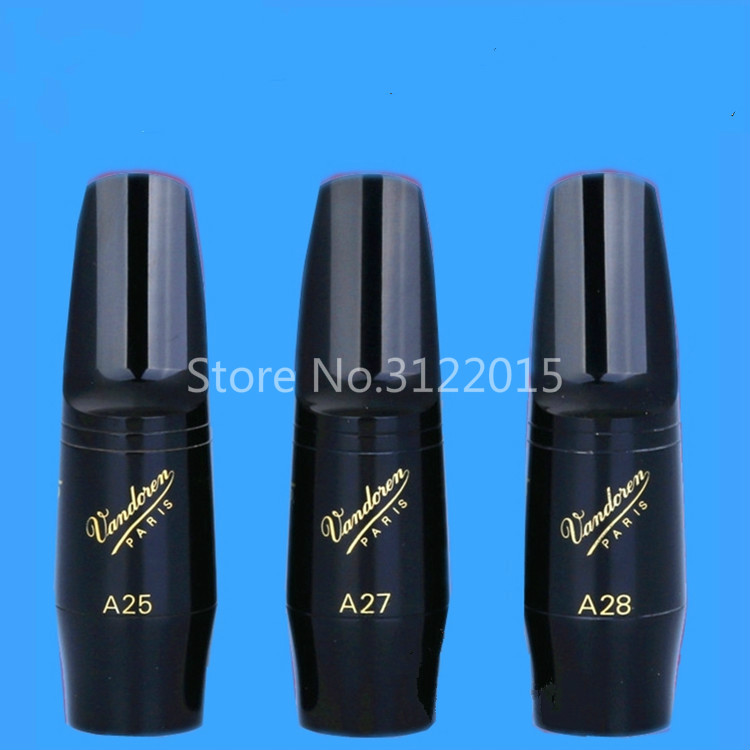 Vandoren V5 Series Alto Saxophone Bakelite Mouthpiece A25 A27 A28 for Classical Music Sax Instrument Accessories Free Shipping
