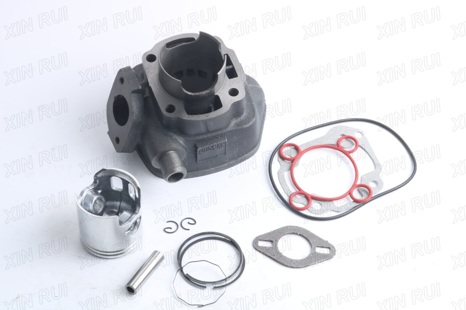 47mm 70cc Big Bore Cylinder Barrel Kit for BETA Ark Lc Elkon 50 gy6 80cc 47mm cylinder kit