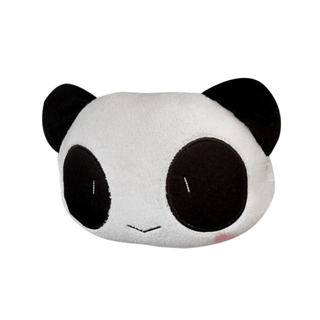Cute Cartoon Auto Panda Cushion 2