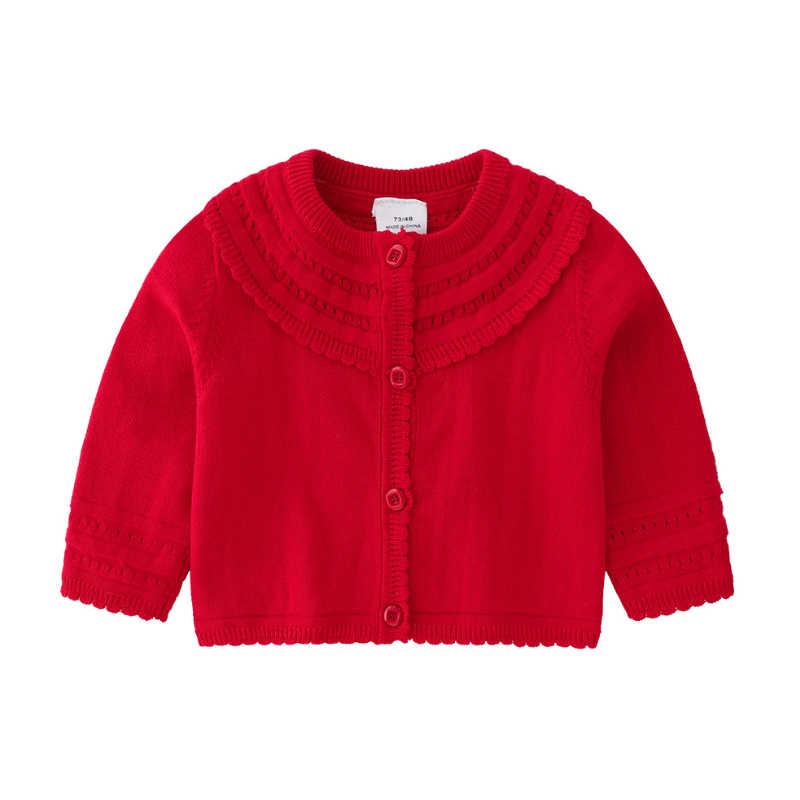 IYEAL เจ้าหญิงเด็กผู้หญิงถักเสื้อกันหนาวแขนยาวผ้าฝ้ายเด็กเสื้อสเวตเตอร์ถักทารกแรกเกิด Outerwear เสื้อผ้าเด็กทารก