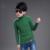 Crianças outono e inverno de alta-camisola pescoço assentamento camisa crianças grosso virgem grande menino camisola de malha camisa roupas line