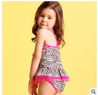 For 2 12y 2015 Children Swimsuit Kids Baby One Piece Swimwear Girl