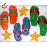 New Year Decoration Latch Hook Rug Kits Rugs And Carpets Handmade Carpet Wool For Felting Felt