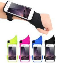 Running Phone Wristband Running Bag Belt Wrist Strap Jogging Cycling Gym Arm Band Bag for Phone