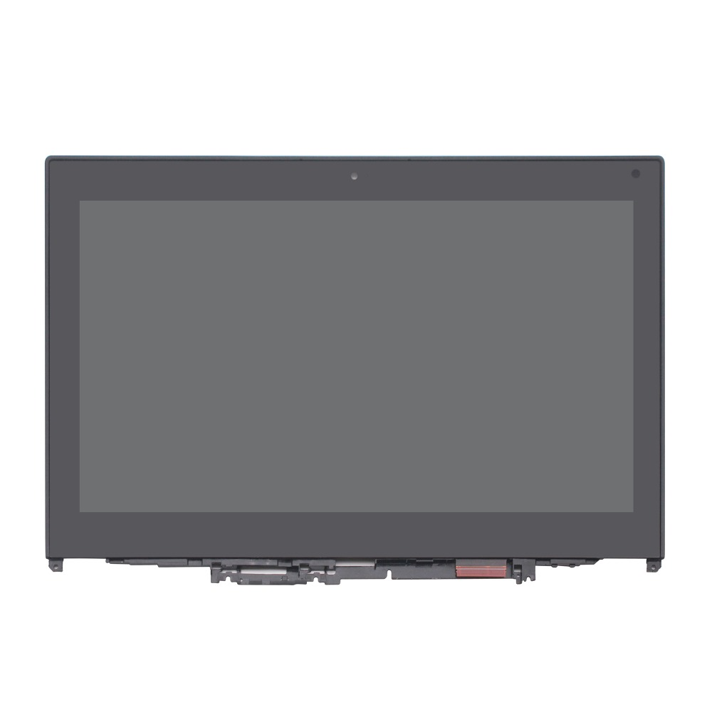 For Lenovo ThinkPad Yoga 260 20GT 00NY900 12.5 FHD LCD Touch Screen Assembly + Bezel AP1EY000710 01HY619 14led lcd display touch screen assembly with bezel for lenovo thinkpad 00hm039 00hm915