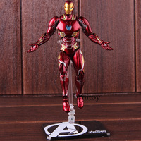 Action Figure Marvel Avengers Infinity War SHF Iron Man MK50 & Tamashi Stage PVC Collectible Model Toy