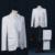 Masculino casamento do noivo prom casacos longos jaqueta branca tuexdo trincheira dançarino cantor desempenho show de boate magia ao ar livre magro desgaste