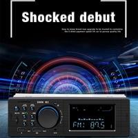 fm tf Dual USB Charging Car MP3 Player TF AUX Audio Input Wreless Remote Control Bluetooth LED Display Car MP3 FM Transmitter (2)