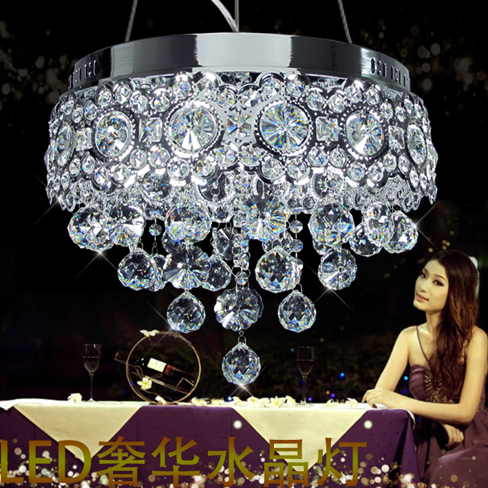 Aliexpress Buy Best Price Luxury K9 Crystal Chandelier LED Lights Living Dining Room Lamp Lighting Aisle From Reliable Light