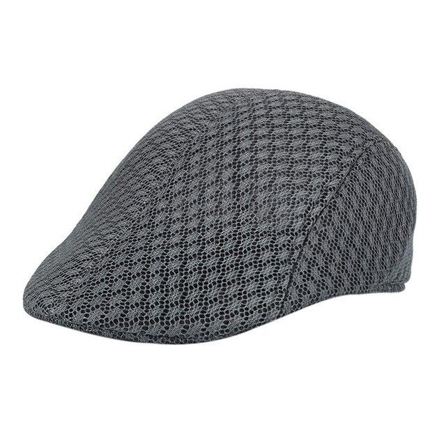 105b3dd37ea NewCreative More Funny Men Breathable Mesh Newsboy Hats Casual Beret Caps  mens hats vintage boina masculina gorras para hombre
