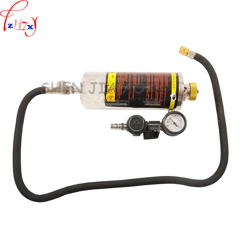 Automotive fuel free demolition cleaning machine hanging bottle tools fuel injector throttle inlet oil passage equipment 1pc все цены