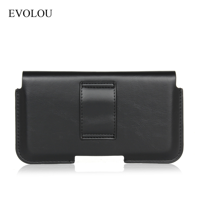 Business Belt Clip Holster Pouch Cover para Iphone 6s 6 7 Plus A3 A5 - Accesorios y repuestos para celulares - foto 3