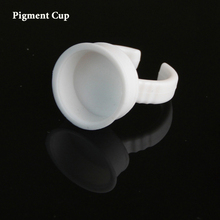 500pcs Microblading Pigment Ring Cup Holder Disposable Permanent Makeup Ink Cup As Microblading Accesories