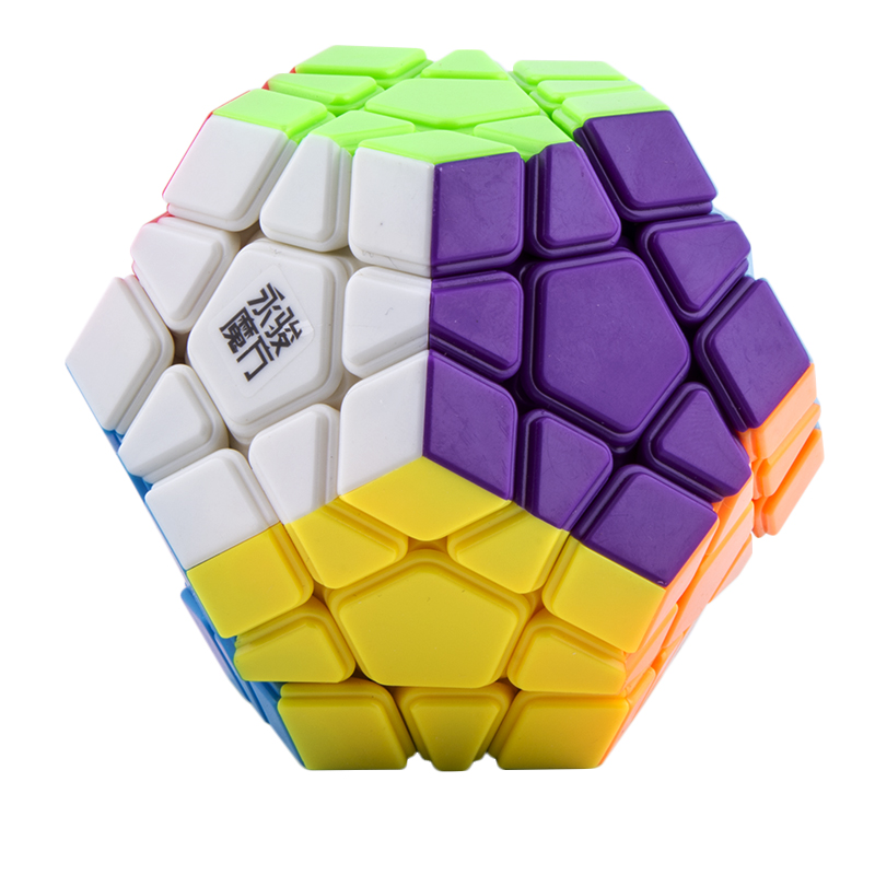 3 * 3 Professional Dodecahedron Magic Cube Autocolant Smooth Puzzle Speed ​​Cube Magic cubo Educațional pentru Copii Jucării (C5