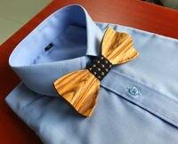 Diversión corbata lazo de la boda establece un nuevo creative wood movimiento ocio de los hombres pajaritas pajarita mariposas de madera