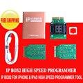 Caixa de caixa de IP 2 programador de alta velocidade para para 64 bits e 32 bits ic programador para iphone5 5S 6 6 p & ipad desvio icloud conta