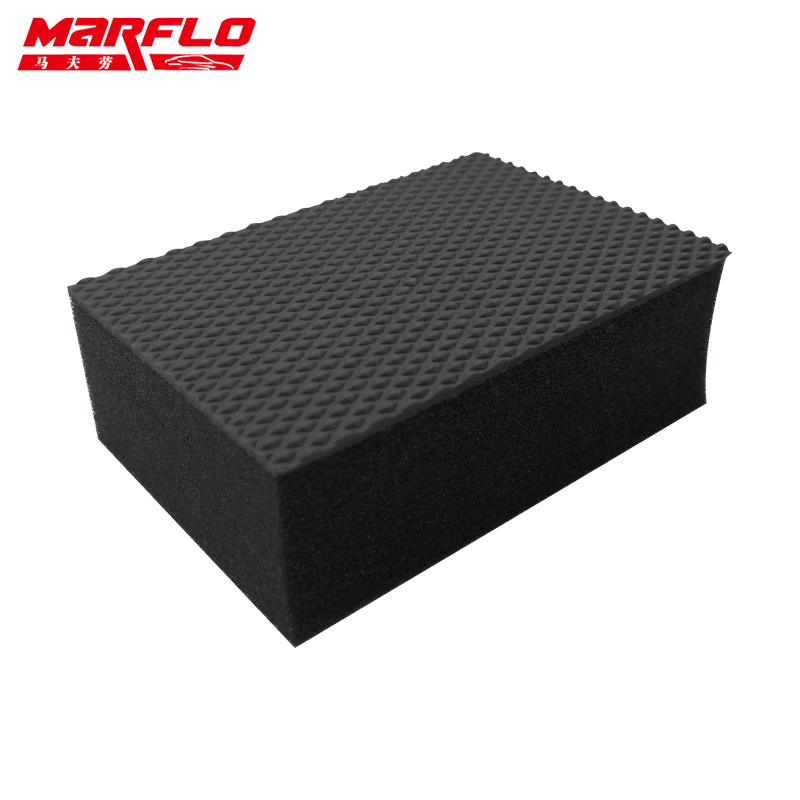 MARFLO Car Wash Mud Magic Clay Bar Sponge Block Pad Remove Contaminants Before Polisher Wax For Car Care Cleaning