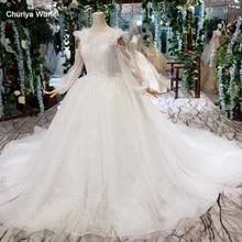 цены на HTL394 princess wedding dresses boho o-neck long sleeves lace up v-back lace beach bridal dress gown vestido de noiva princesa  в интернет-магазинах