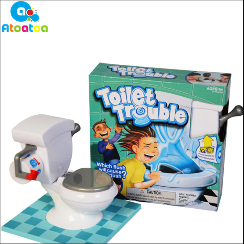 2018 New High Quality Kids Funny ABS Water Spray Toilet ...