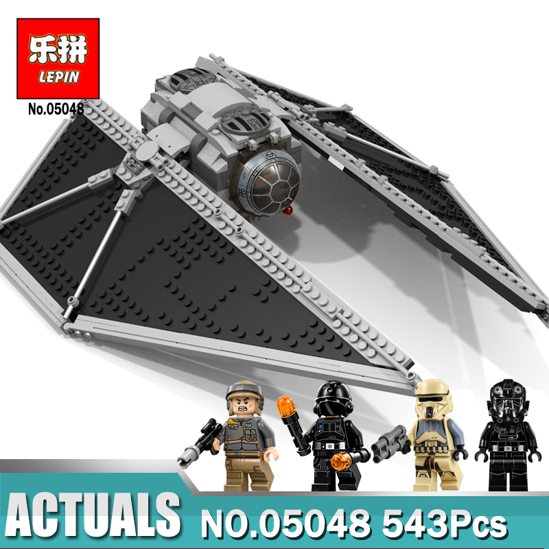LEPIN 05048 Star Series Wars The TIE Striker Set Building Blocks as Children Gift Compatible Legoingly 75154 Assemble Toys lepin 1022pcs star series wars captain rex s at te building blocks brick lepin 05032 boys toys gift compatible legoingly 75157