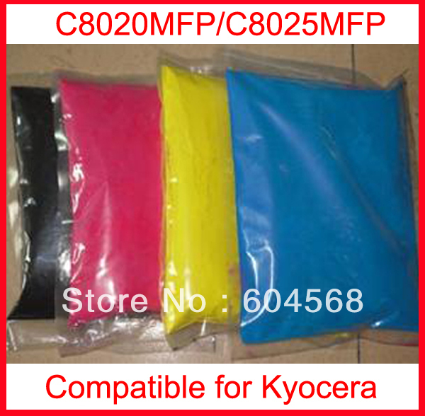 High quality color toner powder compatible kyocera C8020MFP/C8025MFP Free Shipping high quality color toner powder compatible kyocera c5350dn free shipping