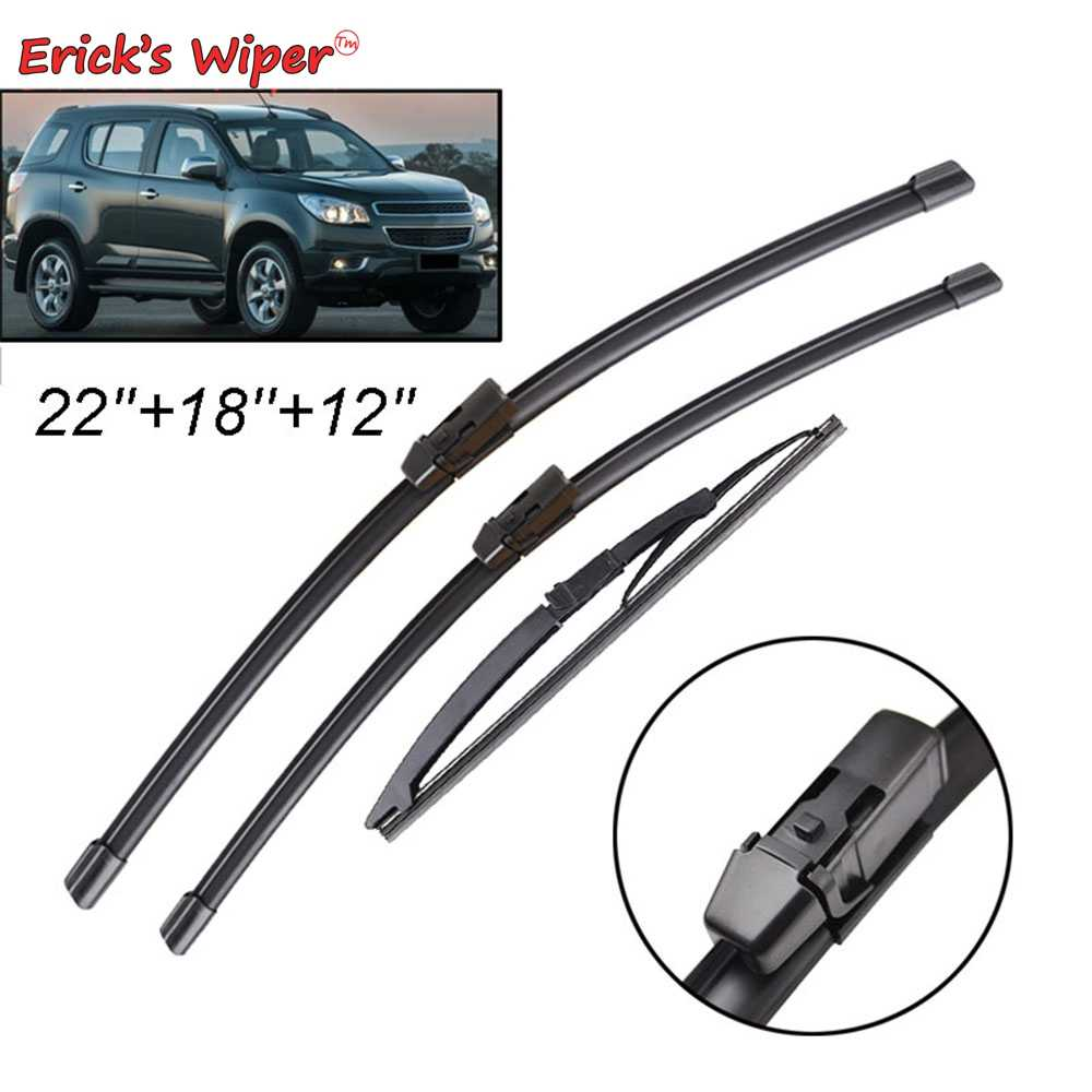 Erick S Wiper Front Rear Wiper Blades Set For Chevrolet Trailblazer Mk2 2012 2019 2018 2017 Windshield Windscreen 22 18 12 Aliexpress