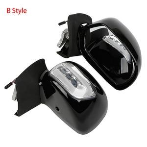 Image 3 - Widok z tyłu motocykla lustro z kierunkowskazem dla Honda Goldwing GL1800 2001 2017 2011 2010 akcesoria