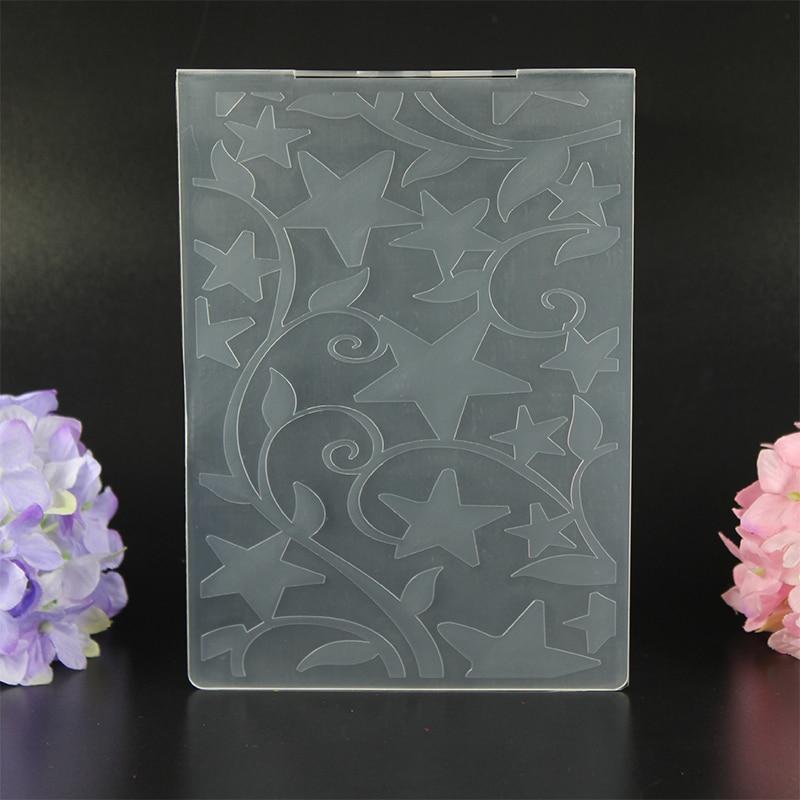 DIY Scrapbooking filiāles Vīnogulāju iespieduma datņu veidnes - Māksla, amatniecība un šūšana - Foto 5