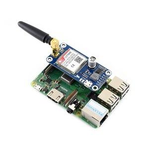 Image 3 - Waveshare NB IoT/eMTC/EDGE/GPRS/GNSS כובע עבור RPi אפס/אפס W/ אפס WH/2B/3B/3B +, המבוסס על SIM7000E, תומך TCP, UDP, PPP, HTTP, דואר