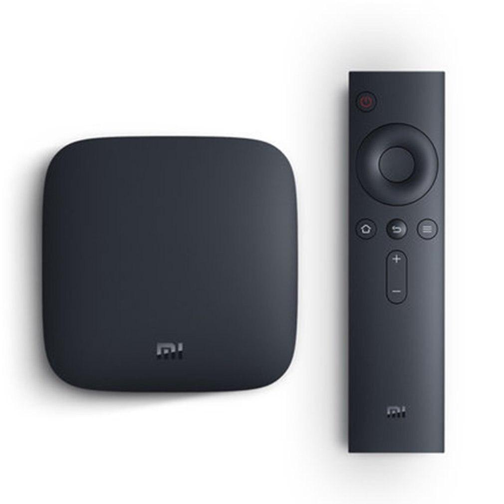 Boîtier TV Original Global Xiao mi mi 4 K HDR Android TV 8.1 Ultra HD 1G 8G WIFI Google Cast Netflix IPTV décodeur 4 lecteur multimédia