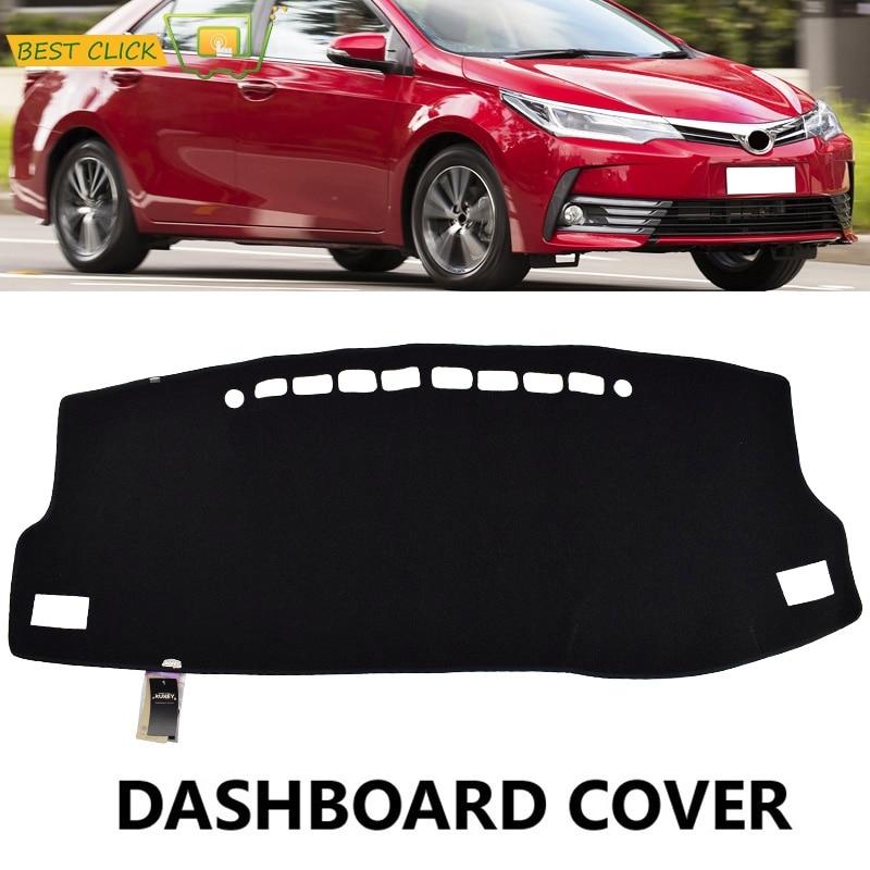 For Toyota Corolla 2014 2015 2016 Dashboard Cover Dashmat Dash Mat Pad Sun Shade