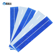 XINPUGUANG Solars Panel 50pcs 156x31.2mm Solar Polycrystalline Silicon Flexible DIY Cell 0.8W 0.5V Charge Battery