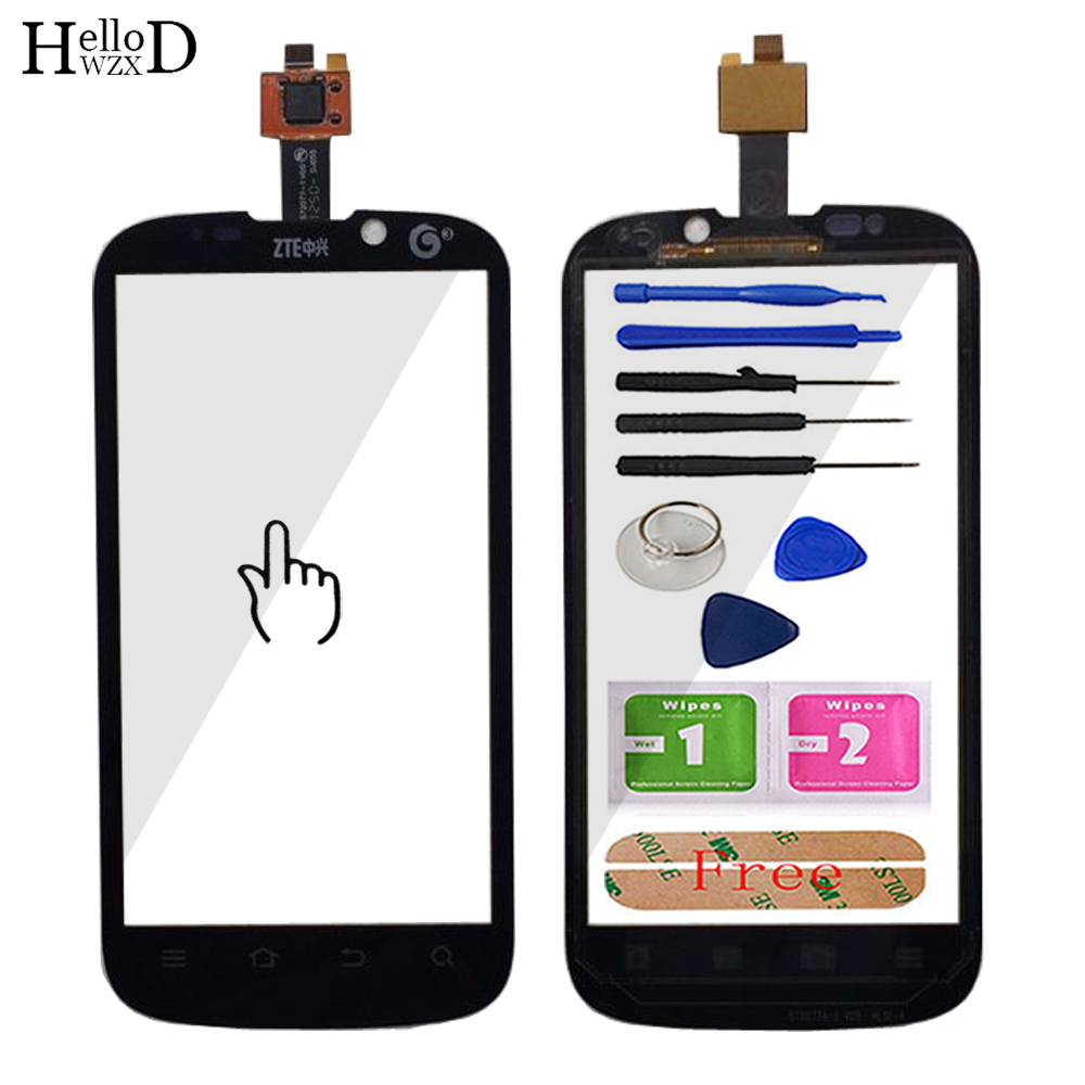 Mobile TouchGlass Front Glass For <font><b>ZTE</b></font> Grand X V970 V970T <font><b>V970M</b></font> Touch Screen Glass Digitizer Panel Parts Glass Lens Sensor Tools image