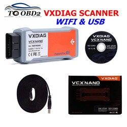 VXDIAG VCX NANO dla Ford USB OBD II OBD2 samochodu narzędzie diagnostyczne 2 w 1 dla Mazda IDS V112 skaner programowanie ECU wykrywanie błędów