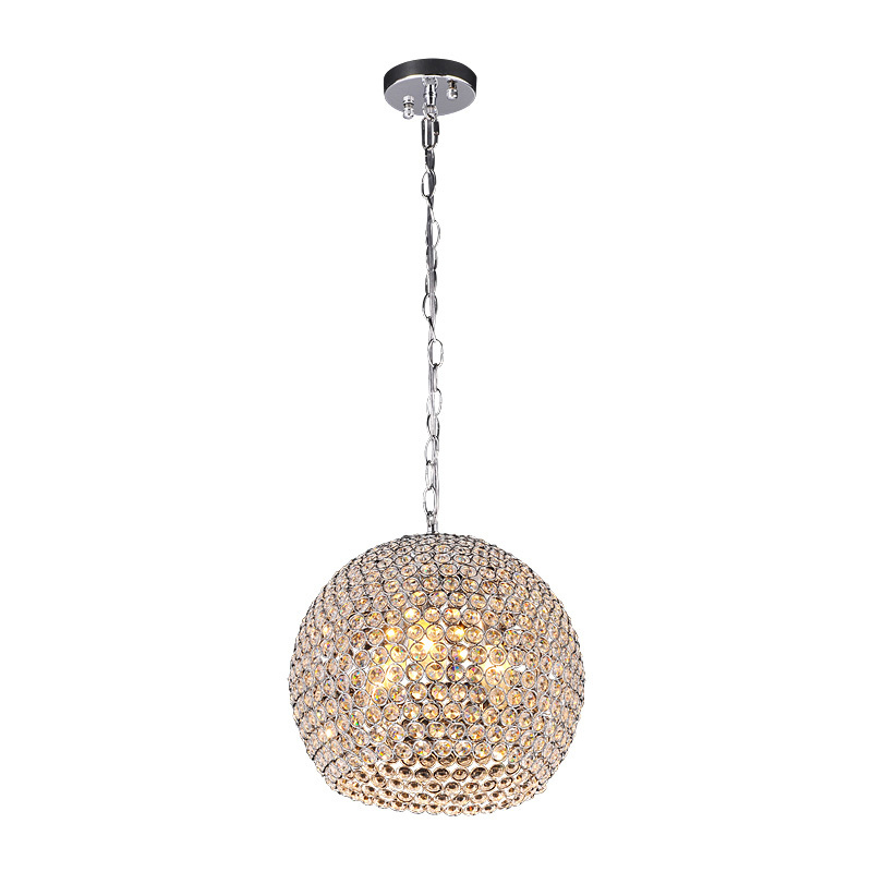 Modern Crystal Dining Room Chain Pendant Light Restaurant Pendant Lamp Bar Counter Corridor Balcony Hallway Pendant Lamp