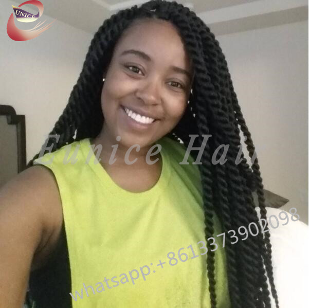 Sexy Crochet Kinky Curly Braiding Hair Extensionslarge Stock