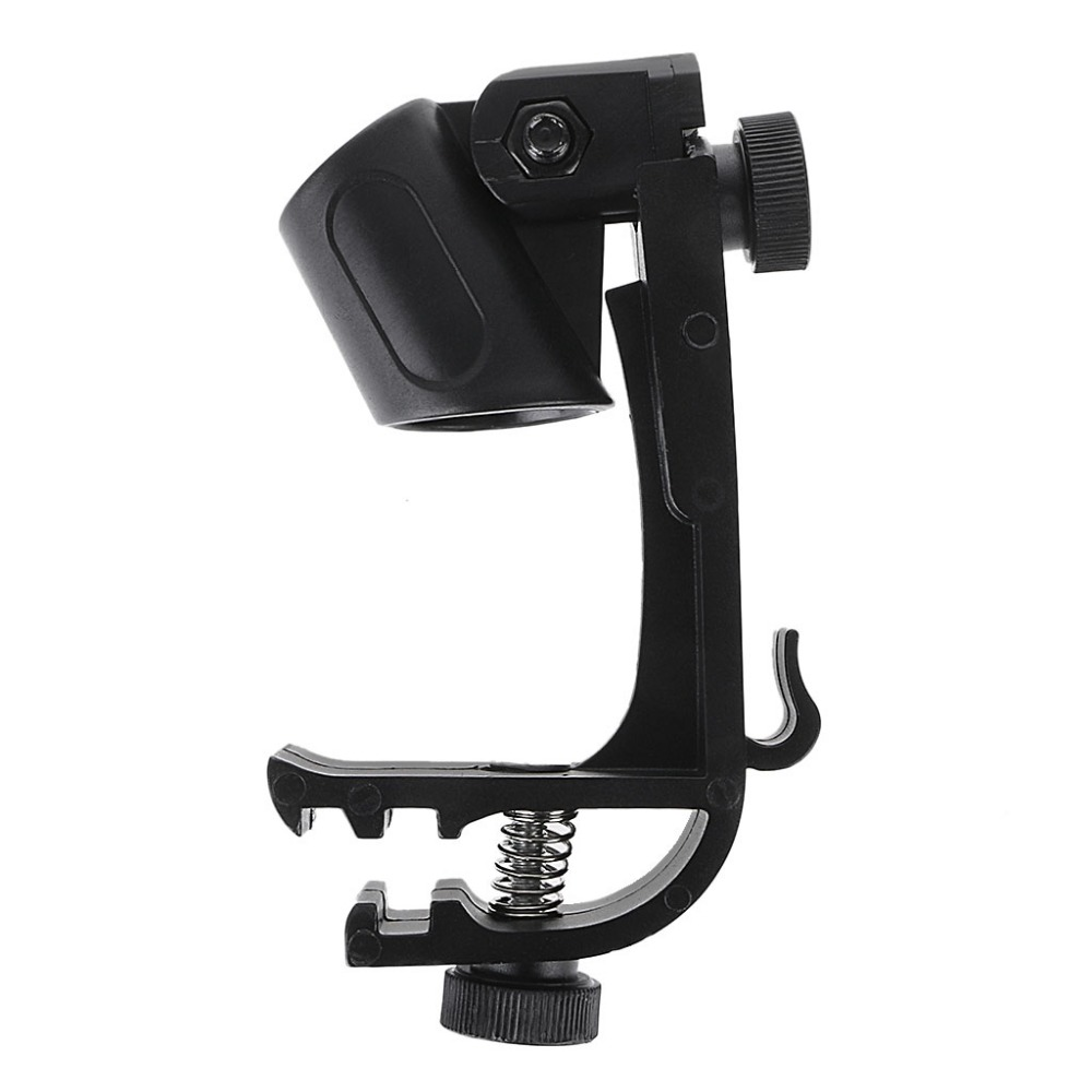 Adjustable Microphone Clips On Drum Rim Anti-shock Mount Clamp Stand Holder Tool