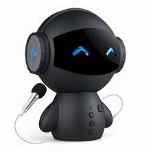 Астронавт стиль Bluetooth колонки с микрофоном Поддержка TF карты HD стерео объемный звук мобильный мощность для телефона английский голосовые подсказки