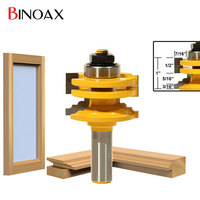 Binoax Classical Ogee Glass Door Router Bit 1 2 Shank