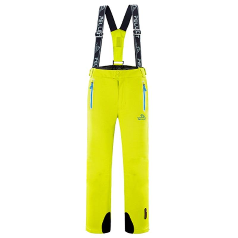 Free Shipping Pelliot Brand In  Winter Ski Pants Man And Women  Waterproof Skis, Suspenders Ski Pants Breathable Warm Pant